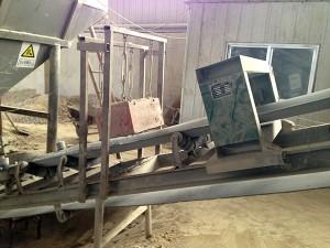 探测仪  永磁除铁器  配套使用现场